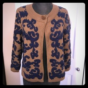 "Sweater jacket 21"" light weight"